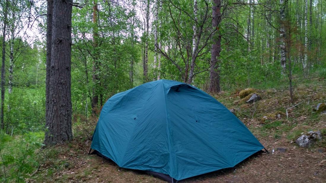 Путешествовать по Финляндии дешево и комфортно. Бесплатный ночлег. Как найти место под палатку